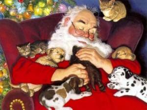 cuccioli natalizi
