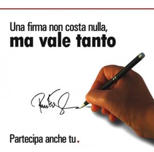 firma petizione
