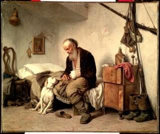 il vecchio e il cane